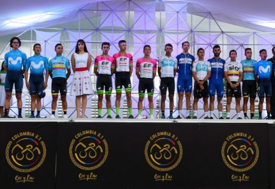 Ciclistas colombianos World Tour