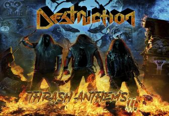 La gira de Destruction