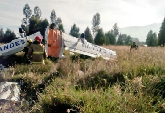 Aeronave accidentada