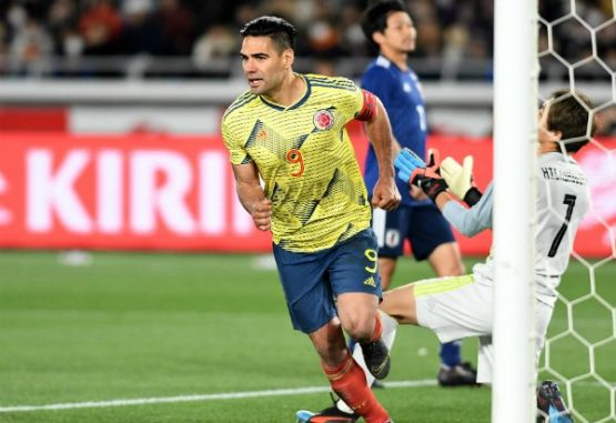 Falcao amistoso Japon Colombia